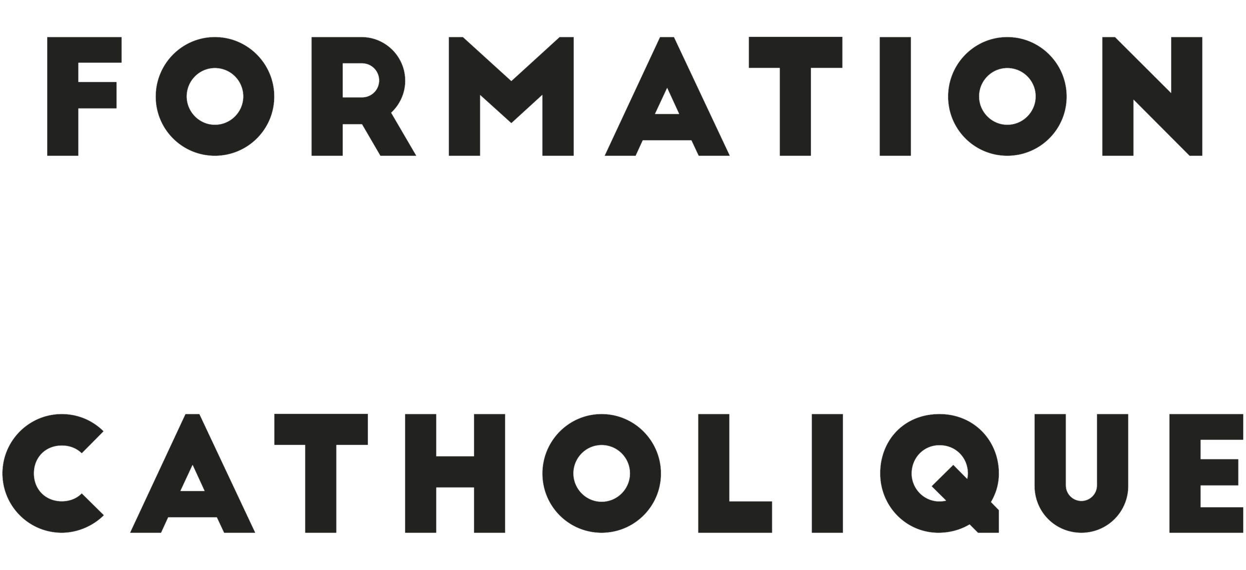 FORMATION CATHOLIQUE